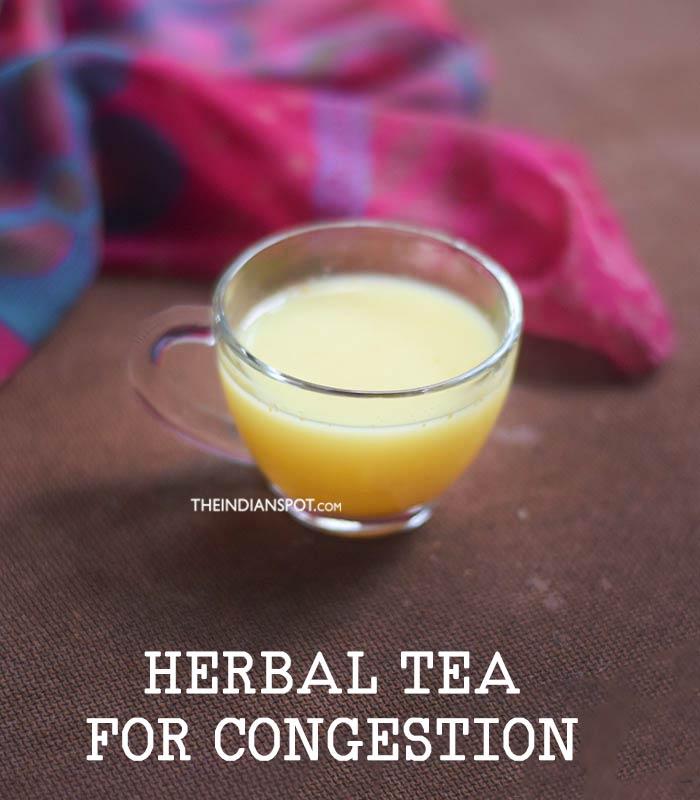 Herbal Tea for congestion
