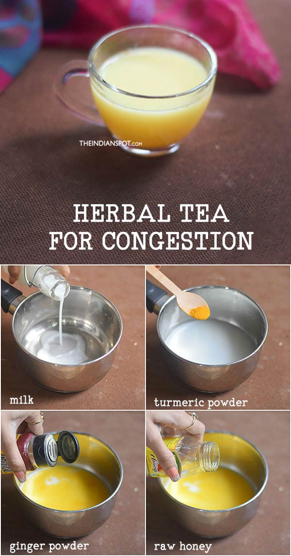Herbal Tea for congestion