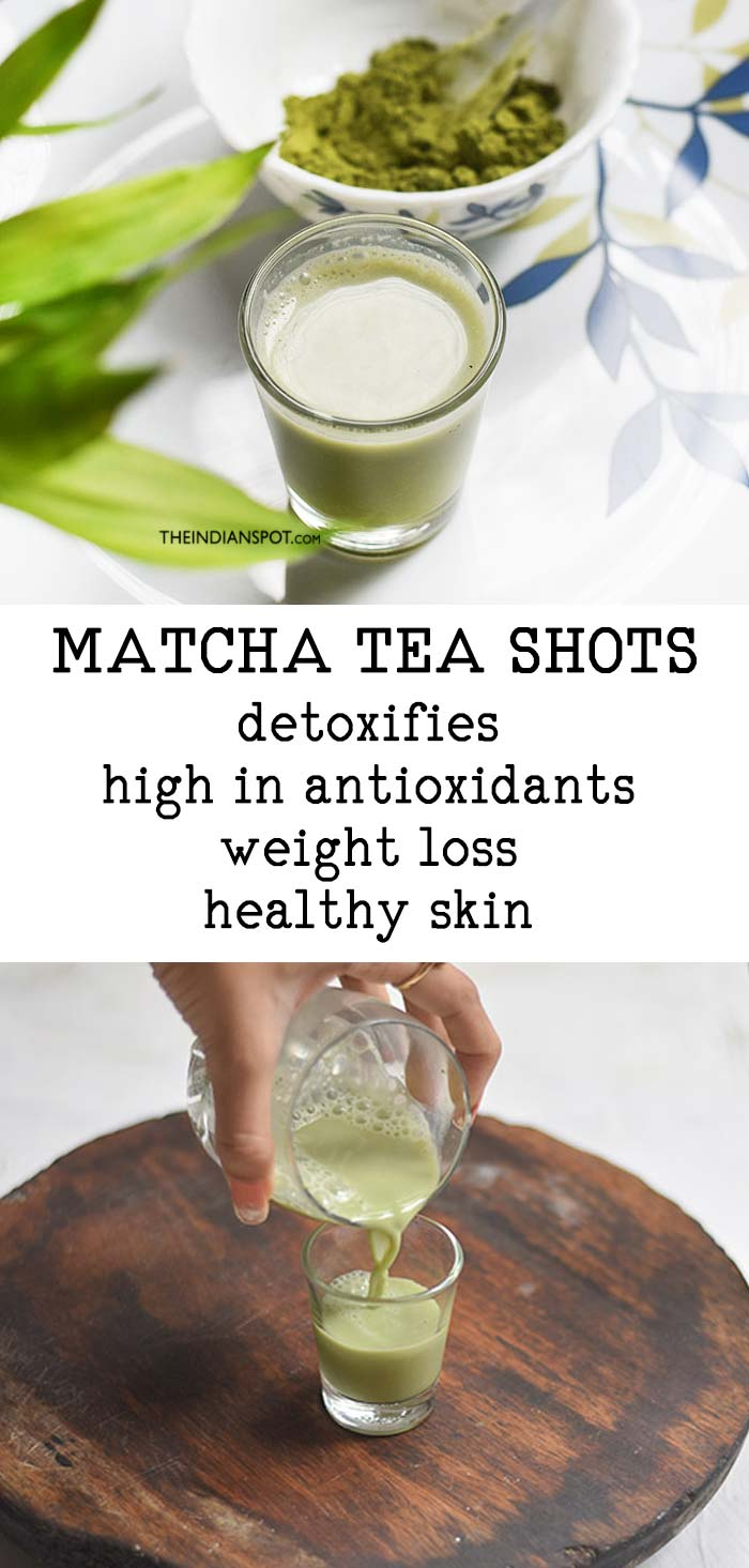 MATCHA TEA SHOTS
