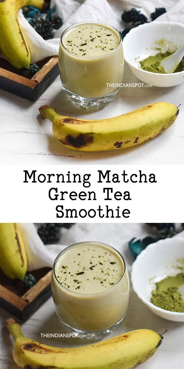 Morning Matcha Green Tea Smoothie Recipe