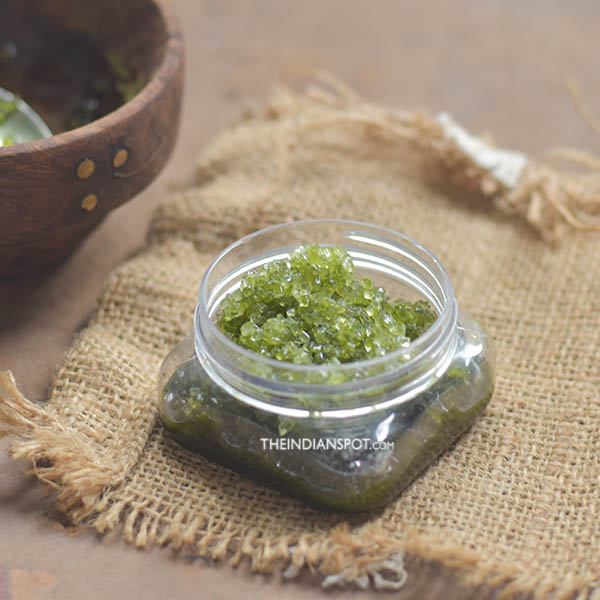 MATCHA SCRUB FOR BEAUTIFUL SKIN AND HAIR