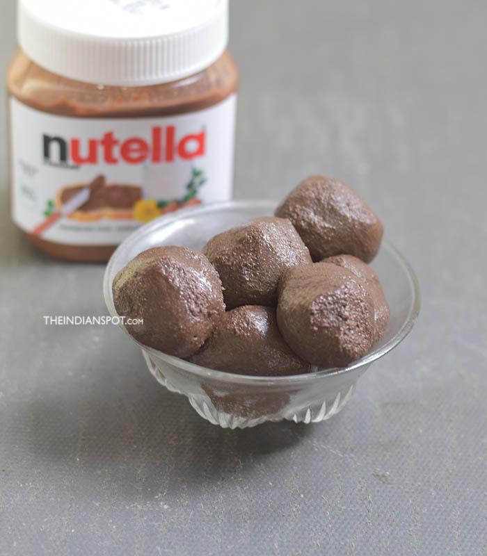 2-INGREDIENT NUTELLA TRUFFLES