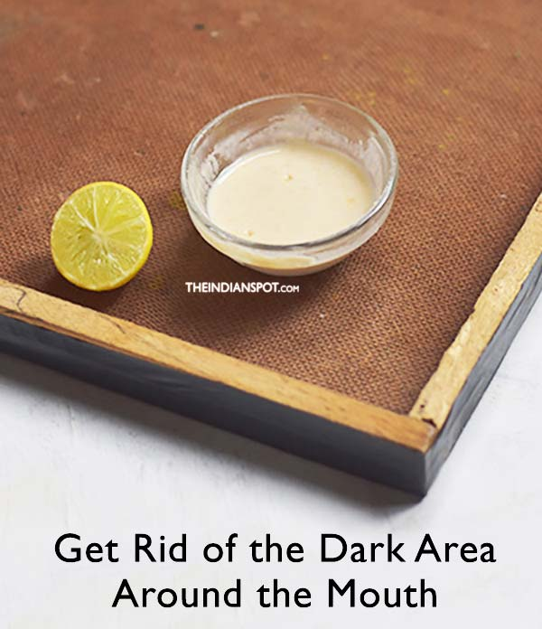 Get Rid of the Dark Area Around the Mouth