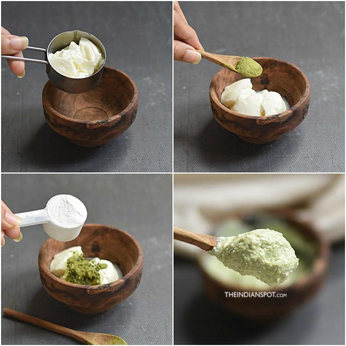 Green tea Face Scrub & Mask