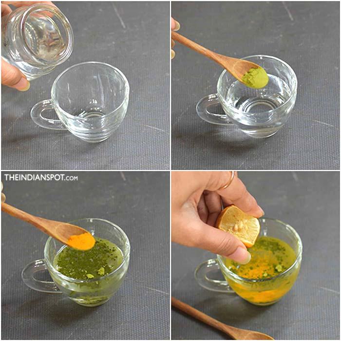 Green Tea Flat Belly Drink