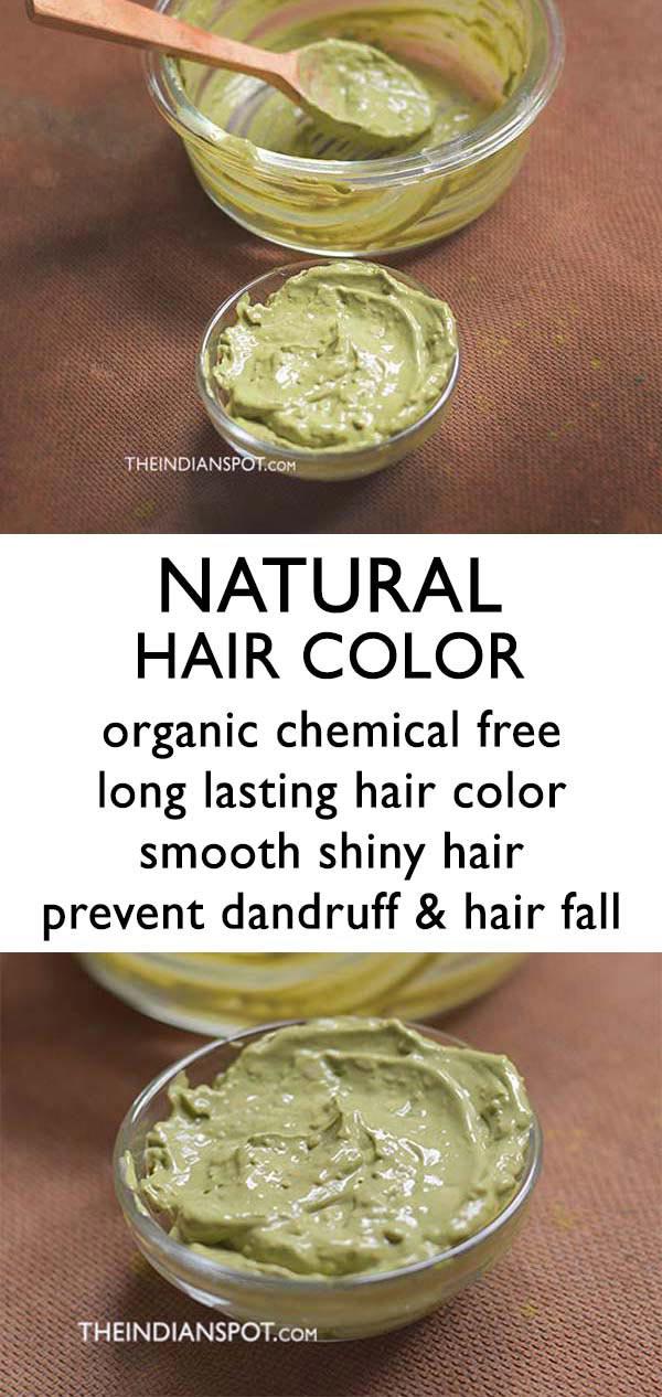 DIY all natural hair dye Recipe