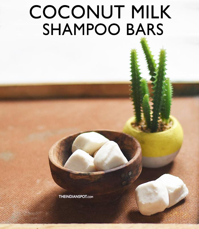 COCONUT MILK SHAMPOO BARS