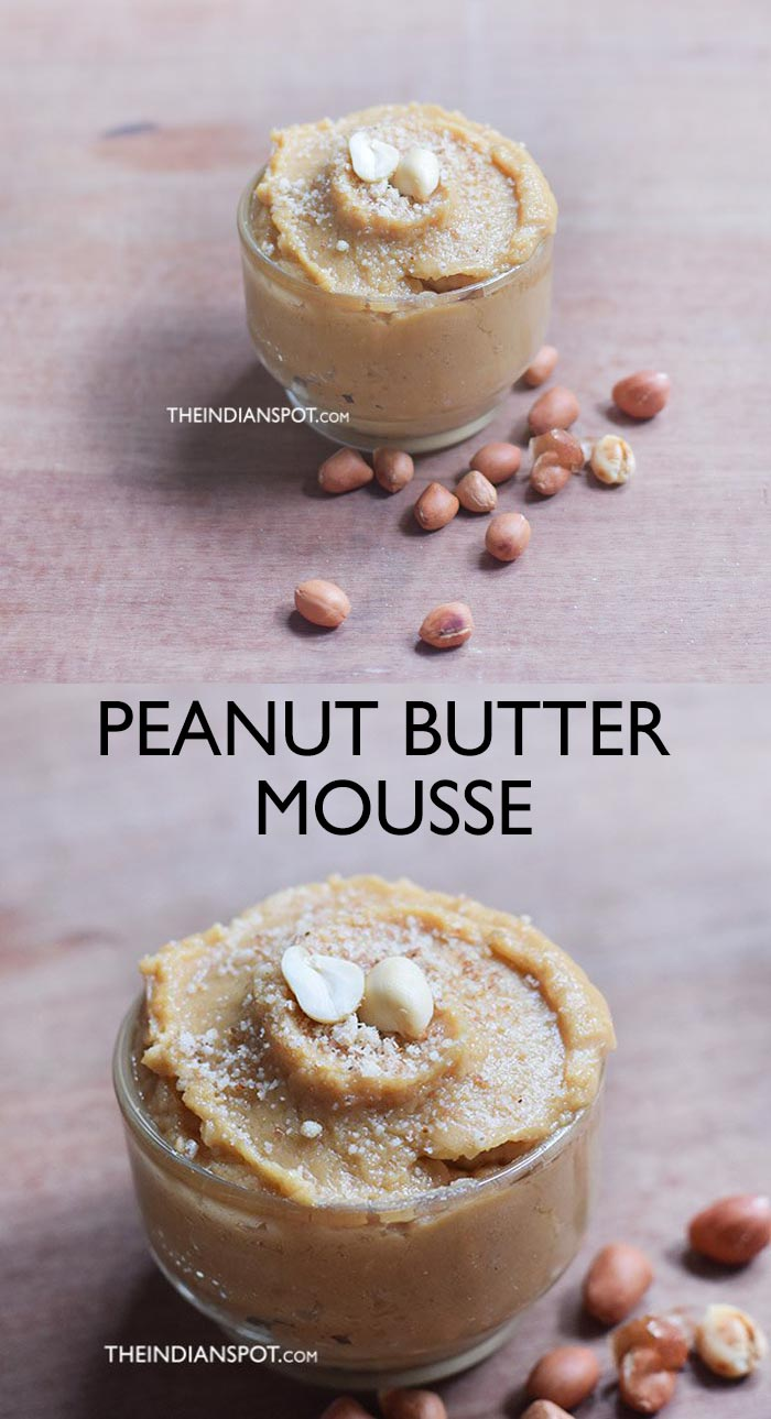 3 INGREDIENT PEANUT BUTTER MOUSSE RECIPE