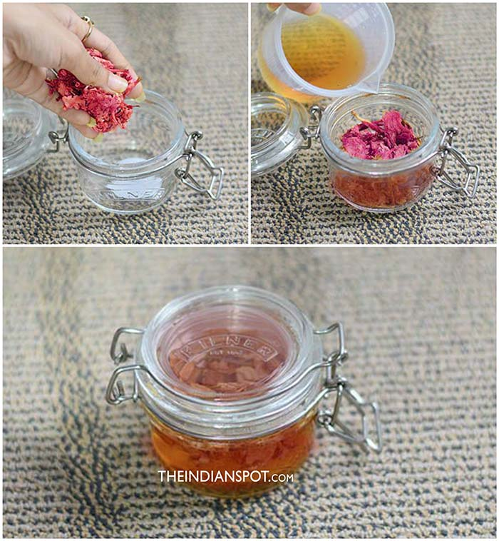 ROSE VINEGAR FOR SMOOTH SKIN AND HAIR