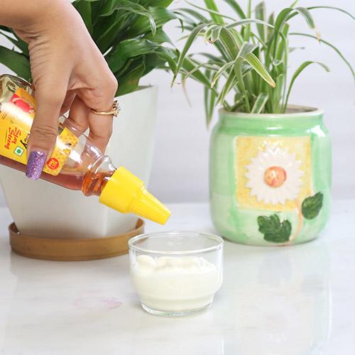 Overnight yogurt mask - get rid of age Spots and hyperpigmentation naturally