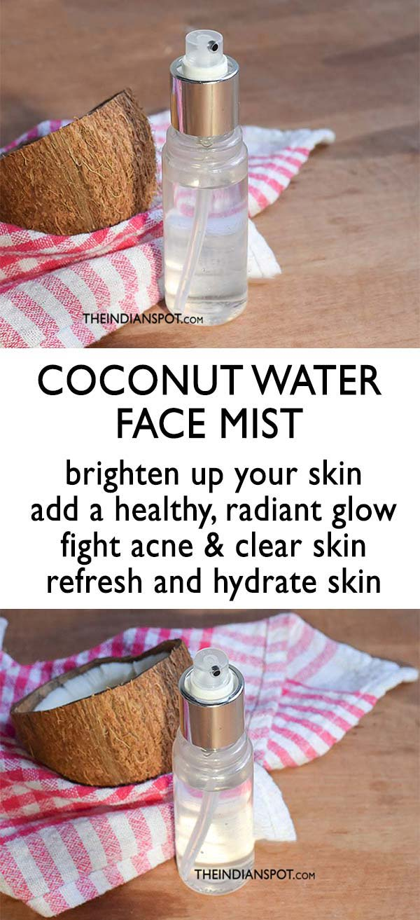 COCONUT WATER FACE MIST for clear skin