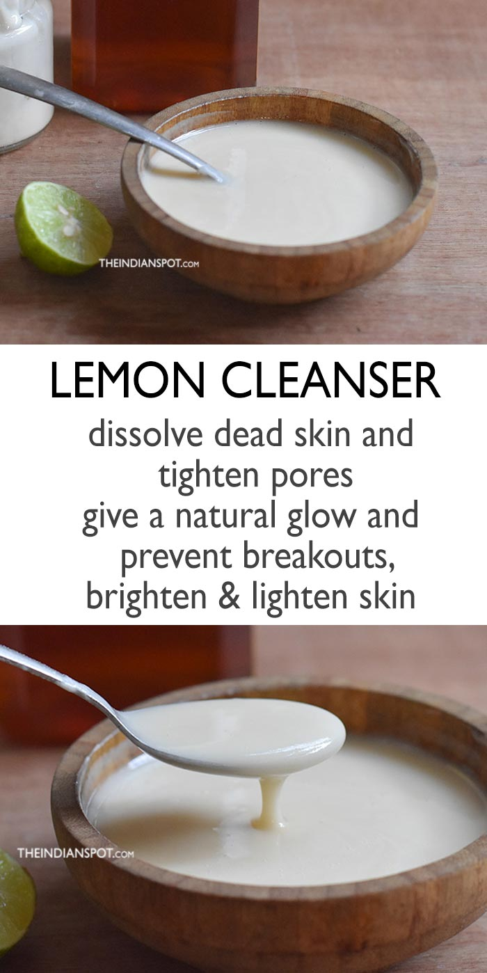 Lemon Skin Brightening Cleanser