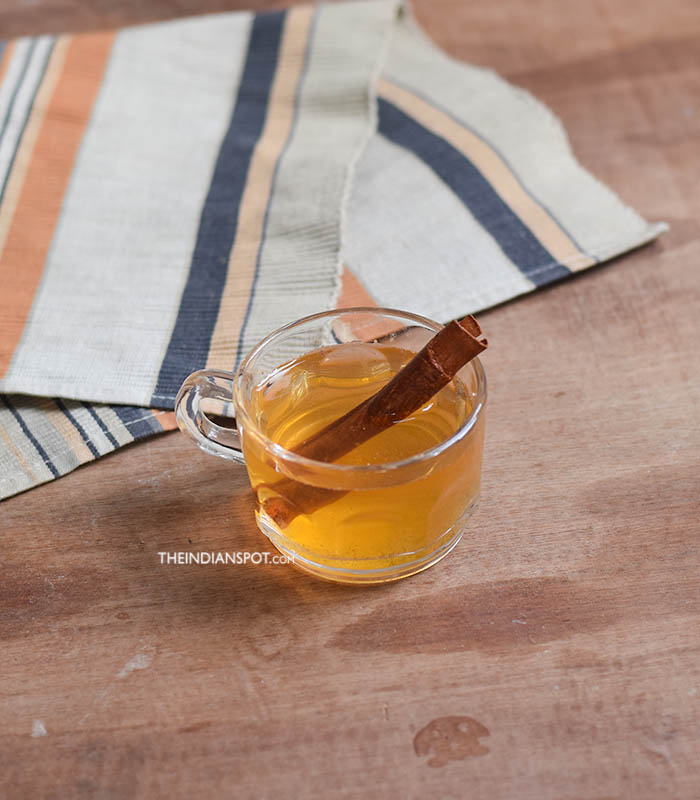 HOT SPICED APPLE CIDER VINEGAR DRINK