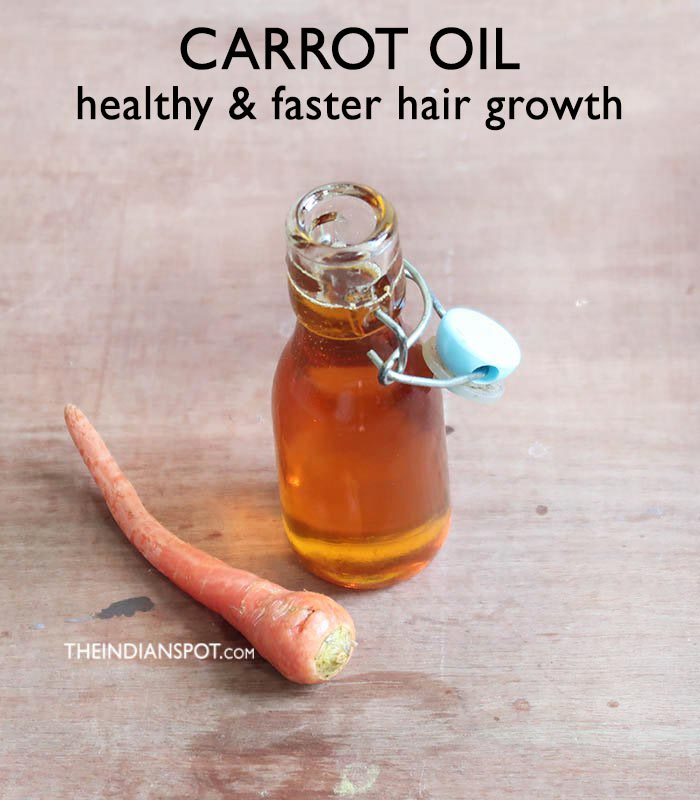 CARROT HAIR OIL FOR HAIR GROWTH