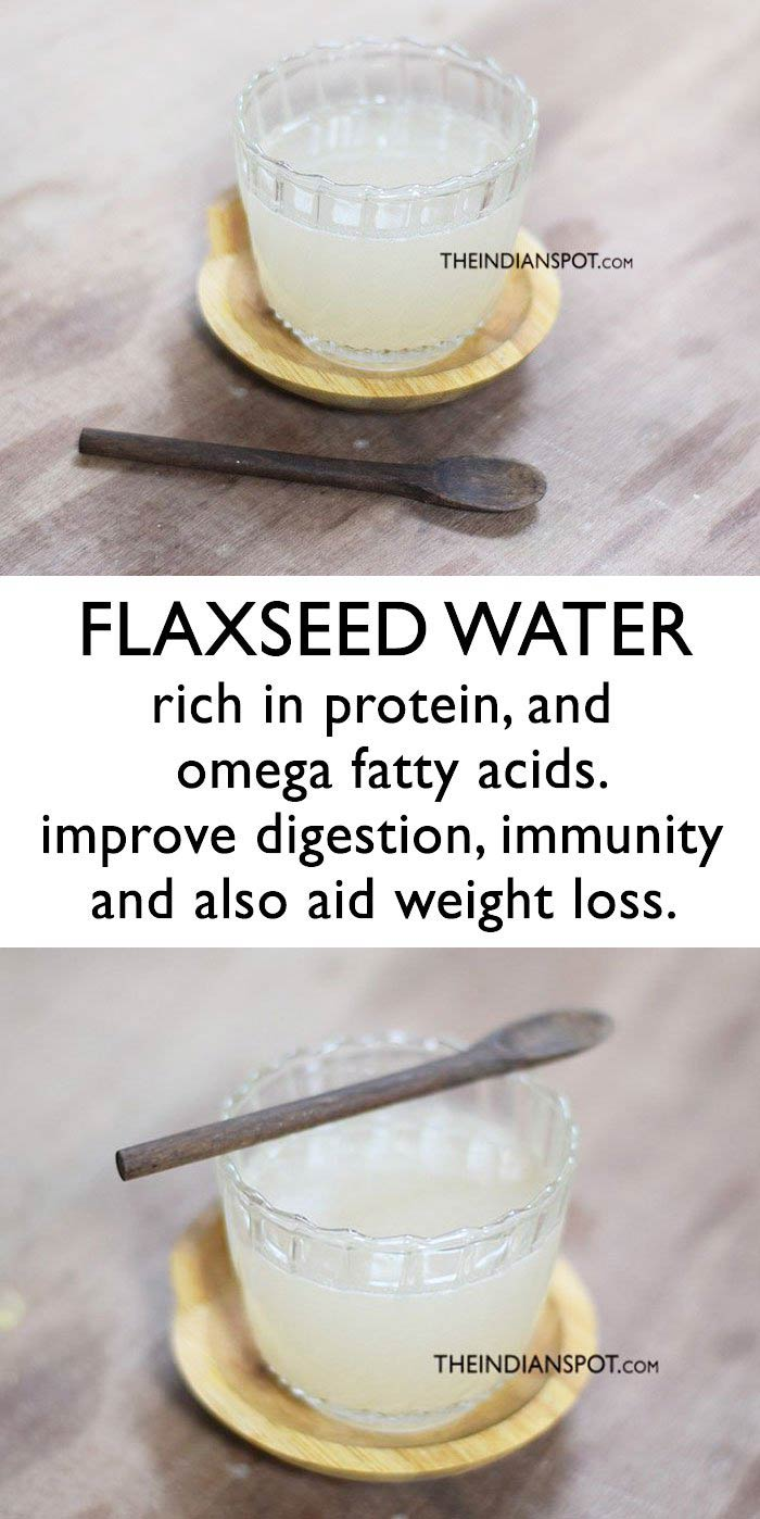 FLAXSEED WATER FOR WEIGHT LOSS