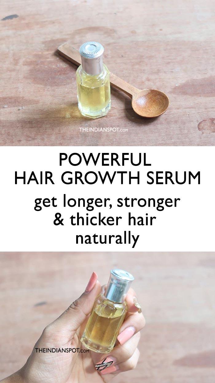 POWERFUL HAIR GROWTH SERUM
