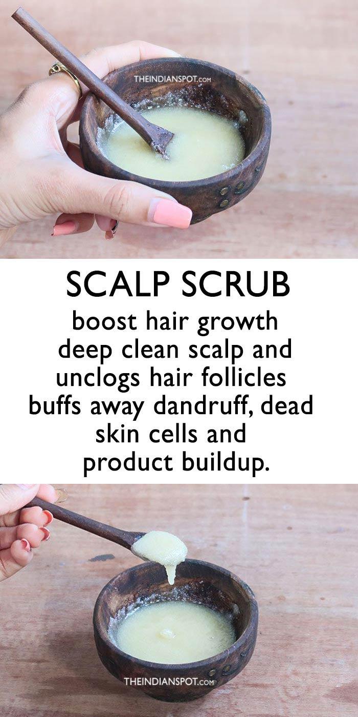Boost Hair Growth With this Scalp Scrub