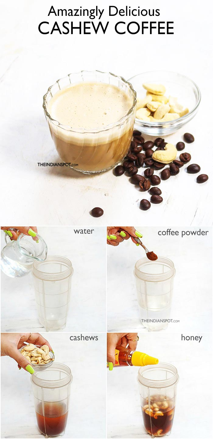 CASHEW COFFEE RECIPE