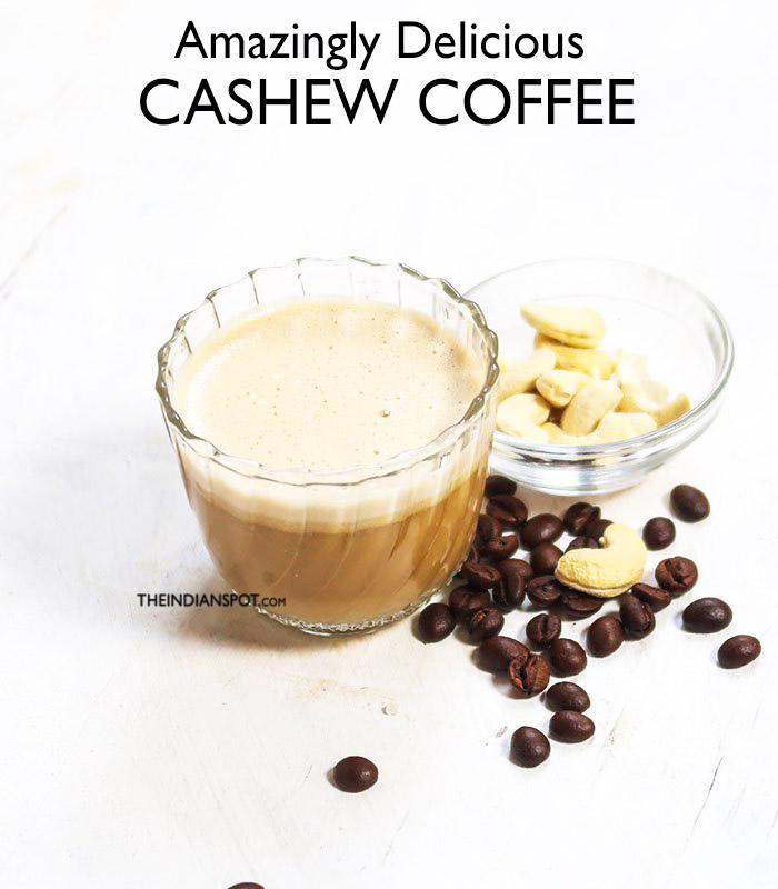 CASHEW COFFEE RECIPE - VEGAN AND CREAMIEST!