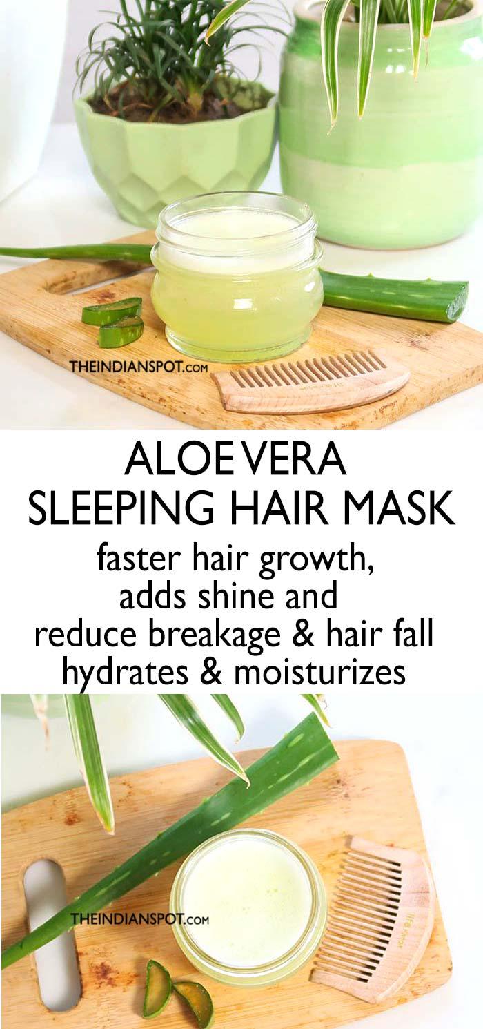 Aloe Vera hair mask for hair fall