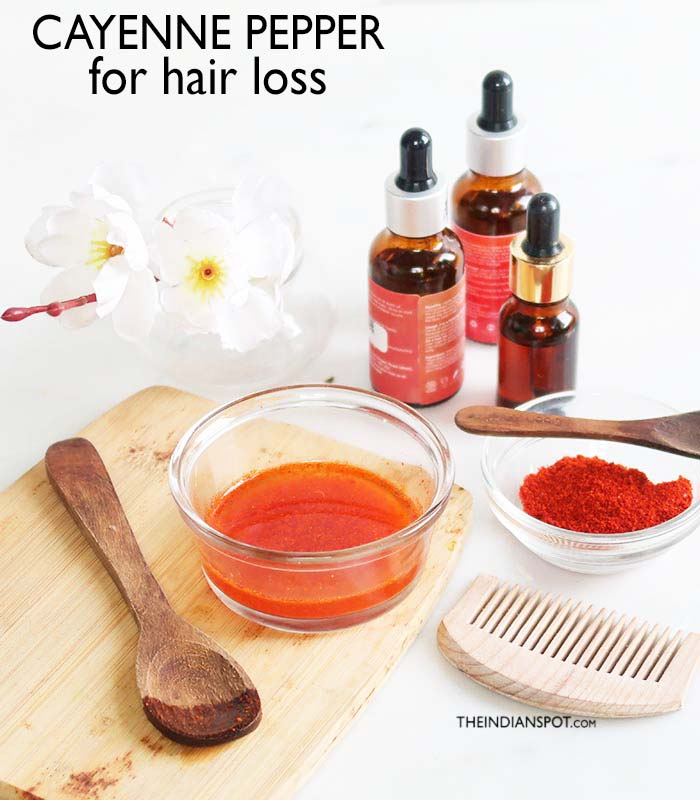 Cayenne Pepper for Hair Loss