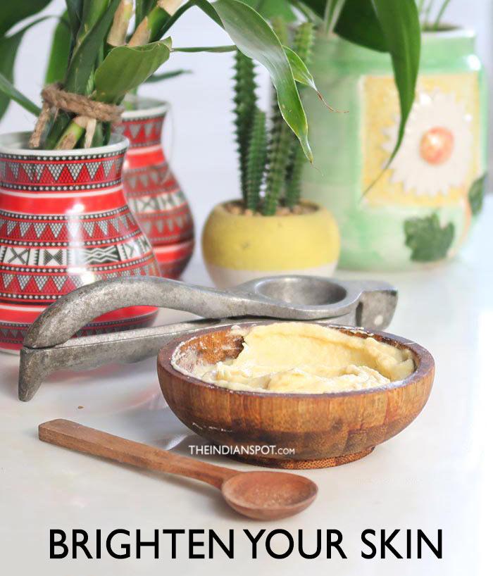 Brighten Your Skin with Flour