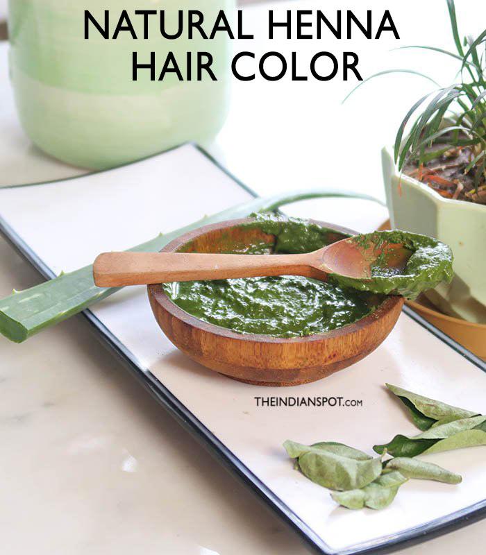 NATURAL HENNA HAIR COLOR