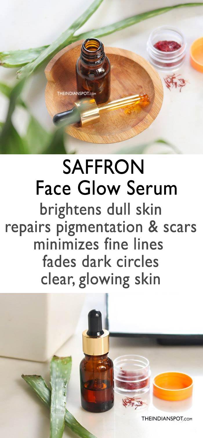 SAFFRON FACE GLOW NIGHT SERUM