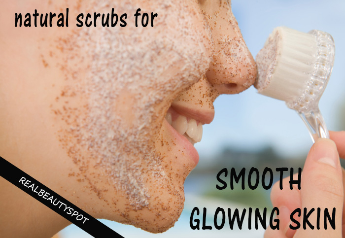 Best 5 Homemade Natural Scrubs For Smooth Glowing Skin The